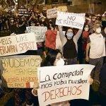 Corrupción y la extinción de la democracia