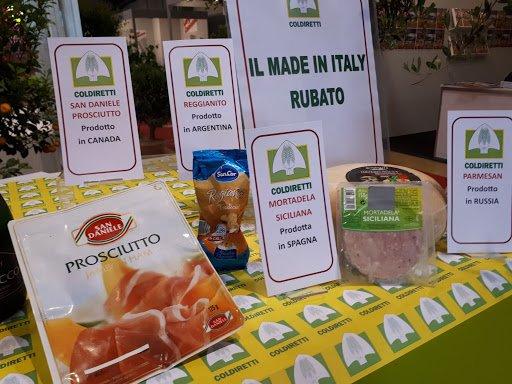 Made in Italy Falso. Foto Meteoweb Falsificación de Alimentos